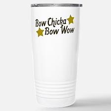 Bow Chicka Bow Wow Travel Mug