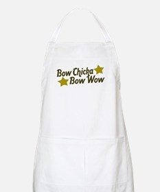 Bow Chicka Bow Wow BBQ Apron