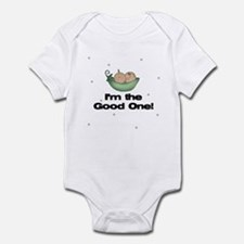 I'm the Good One Twin Baby Infant Bodysuit