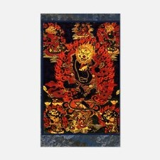 Senge Dongma - Lion-Faced Dakini Decal