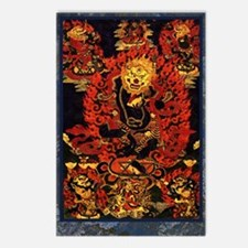 Senge Dongma - Lion-Faced Dakini Postcards (Packag