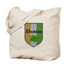 Dublin Irish Crest Tote Bag