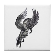 pegasus in flight Tile Coaster