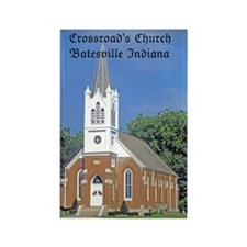 Crossroad's Lutheran Church Rectangle Magnet