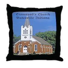 Crossroad's Lutheran Church Throw Pillow