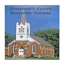Crossroad's Lutheran Church Tile Coaster