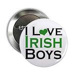 "I Love Irish Boys 2.25"" Button (10 pack)"