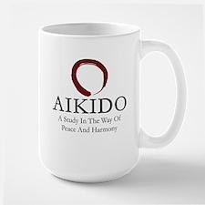 Aikido Art Of Peace Large Mug