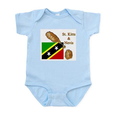 St. Kitts & Nevis Infant Creeper