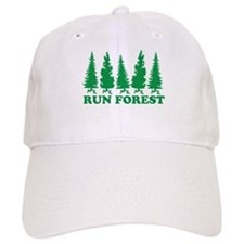 Run Forest Baseball Cap