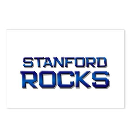 stanford rocks Postcards (Package of 8)