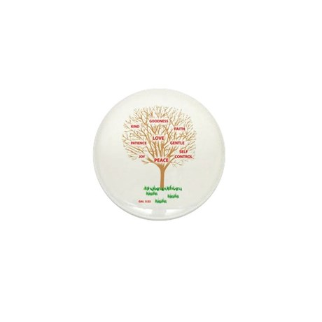 Fruit of the SPIRIT - Mini Button (10 pack)