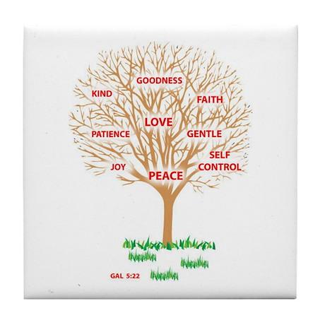 Fruit of the SPIRIT - Tile Coaster