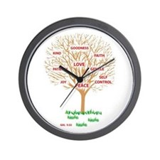 Fruit of the SPIRIT - Wall Clock