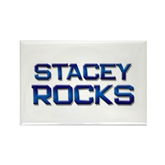 stacey rocks Rectangle Magnet