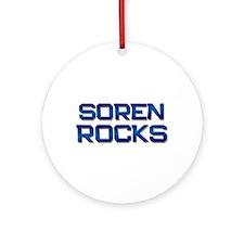 soren rocks Ornament (Round)