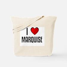 I LOVE MARQUISE Tote Bag