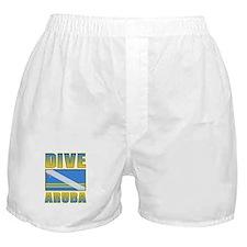 Scuba Dive Aruba Boxer Shorts