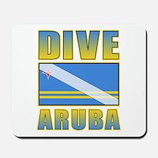 Scuba Dive Aruba Mousepad