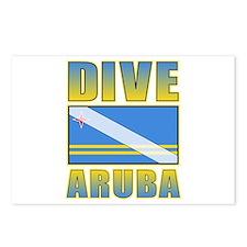 Scuba Dive Aruba Postcards (Package of 8)