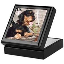 Wire Haired Afternoon Keepsake Box