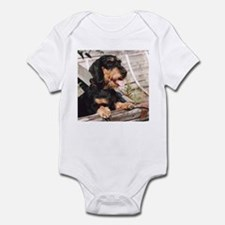 Wire Haired Afternoon Infant Bodysuit