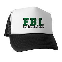 F.B.I. - Full Blooded Irish Trucker Hat