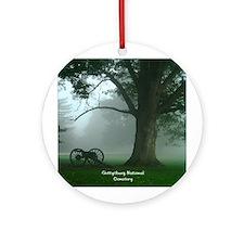 Gettysburg National Cemetery Ornament (Round)