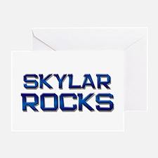 skylar rocks Greeting Card