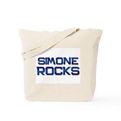 simone rocks Tote Bag