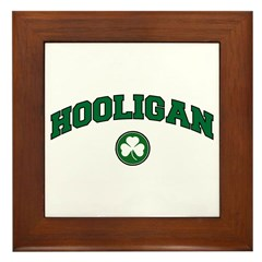 Hooligan Framed Tile