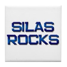 silas rocks Tile Coaster