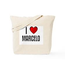 I LOVE MARCELO Tote Bag