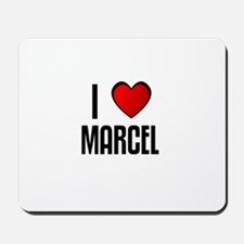 I LOVE MARCEL Mousepad