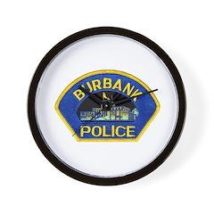 Burbank Police Wall Clock
