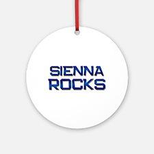 sienna rocks Ornament (Round)