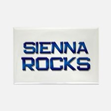 sienna rocks Rectangle Magnet
