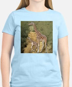 Mom and Baby Giraffe T-Shirt