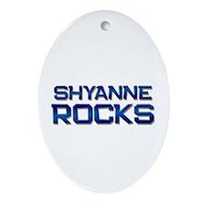 shyanne rocks Oval Ornament