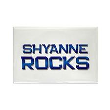shyanne rocks Rectangle Magnet