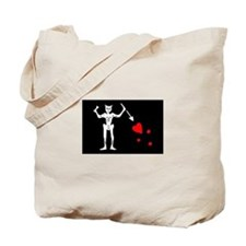 Cute Blackbeard Tote Bag