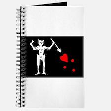 Cute Blackbeard Journal