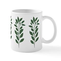 Green Plant Mug