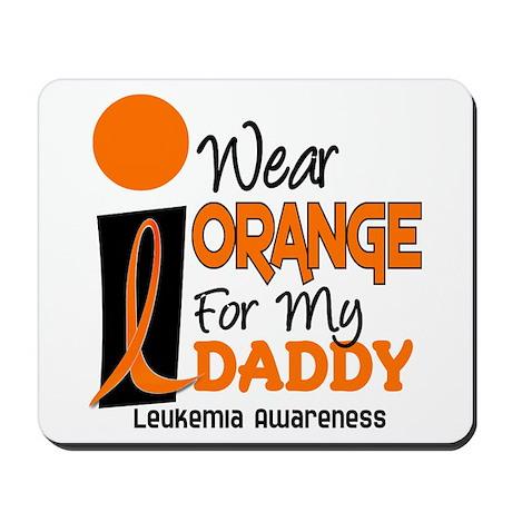 I Wear Orange For My Daddy 9 Mousepad