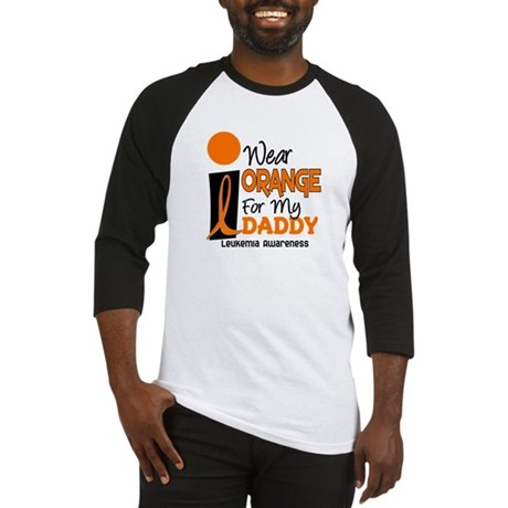 I Wear Orange For My Daddy 9 Baseball Jersey