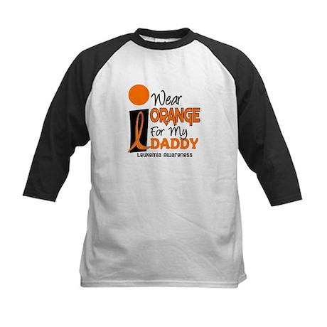 I Wear Orange For My Daddy 9 Kids Baseball Jersey
