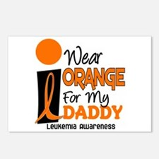 I Wear Orange For My Daddy 9 Postcards (Package of