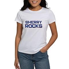 sherry rocks Tee