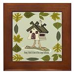 birdhouse Framed Tile