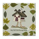 birdhouse Tile Coaster